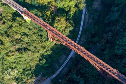 Old railway bridge of Roncigliove in Viterbo © Claudio Quacquarelli