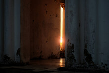 Sun Light Shining Through The ...