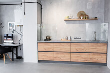 Spacious Kitchen And Workplace...