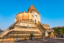 Wat Chedi Luang, Chiang Mai, Northern Thailand, Thailand
