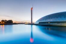 Glasgow Tower, Science Centre, Glasgow, Scotland, United Kingdom