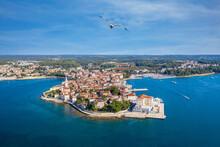 Die Altstadt Von Porec In Kroa...