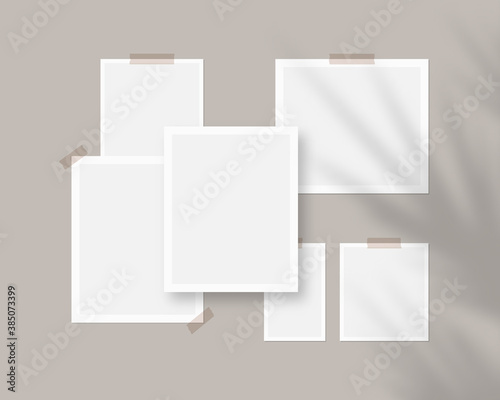 Photo Mood board mockup template