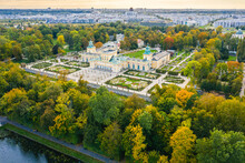 Autumn In Wilanow Palace Garden