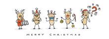 Christmas Reindeer Merry Christmas