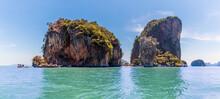 A Panorama View In Phang Nga B...