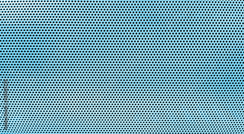 Fotografía abstract Steel with black hole grilles for the background,metal grid wicker texture,Pattern of dots
