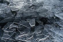 Abstract Ice Detail