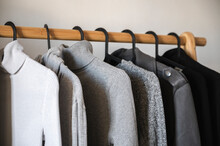 Monochromatic Clothes Rack