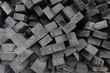 Wood slats building materials natural background texture