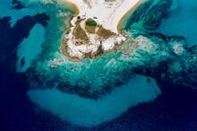 Greece, Sithonia, Aerial View ...