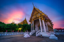 Temple (Thai Language:Wat Chan West) Is A Buddhist Temple (Thai Language:Wat) It Is A Major Tourist Attraction In Phitsanulok, Thailand.