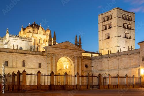 Zamora cathedral in Spain