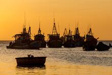 The Harbor Of  Mui Ne In Vietn...