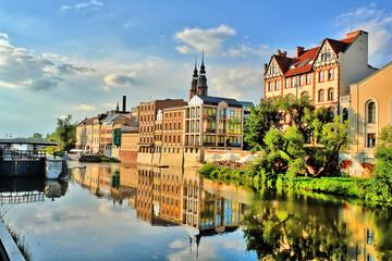 Widok miasta Opola