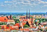 Panorama Wrocławia z góry