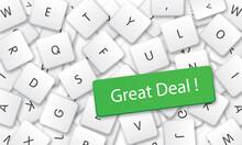Great Deal In White Keyboard K...