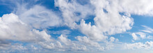 Fluffy Cumulus Clouds, Translu...