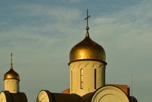 The Gilded Domes Of The City C...