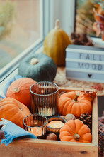 Autumn Cozy Mood Composition O...