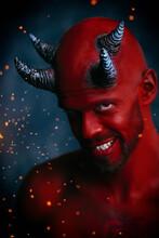 Smiling Red Devil