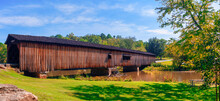 Covered Bridge At Watson Mill ...