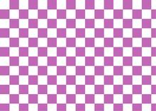 市松模様 紫色と白色