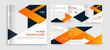 Square Corporate Trifold Brochure Design Template