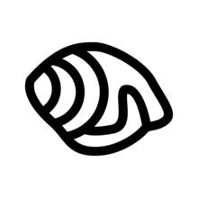 Snail Shells Icon Or Logo Isol...