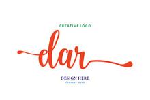 Simple DAR Lettering Logo Is E...