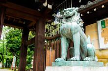 狛犬 靖国神社