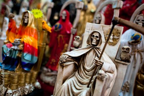 Fototapeta Santa Muerte (Holy Death) religious cult in Mexico.