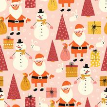 Christmas Coronavirus Seamless...