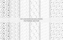 Set 6 Background Wallpapers Pa...