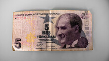 Turkish Lira Bill, Turkish Money