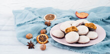 Pepper Nuts, Traditional German Christmas Sweets, Nuremberg Gingerbread