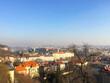 Aerial city view of Prague, Czech Republic