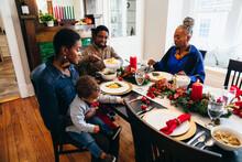 Black Multigenerational Family...