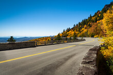 Linn Cove Viaduct Fall On The Blue Ridge Parkway