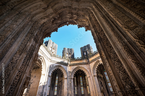 Fotografía Batalha Dominican medieval monastery, Portugal - great masterpieces of Gothic art