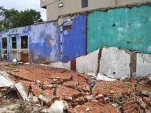Urban Demolition Site In Vietn...