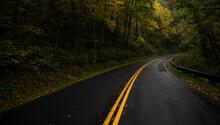 A Mountain Road Leading Throug...