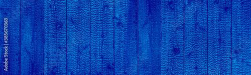 Obraz Old blue wood texture background for pattern design. - fototapety do salonu