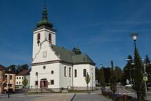 Church Of St Katerina Alexandrijska In Volary,South Bohemian Region,Czech Republic,Europe