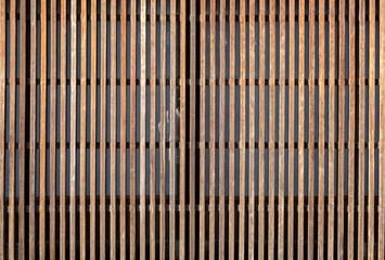 木製面格子の背景素材