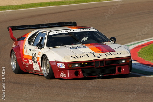 Imola Classic 22 Oct 2016 - BMW M1 - 1979 driven by unknown, during practice on Imola Circuit, Italy.