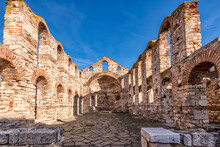 Ruins Of The Ancient Church In...