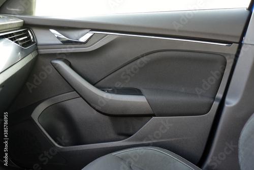 Car door handles Fotobehang
