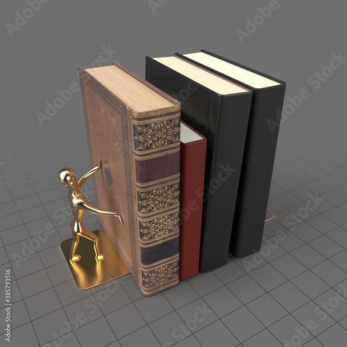 Obraz Book holder - fototapety do salonu