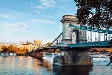 Chain Bridge In Budapest Also ...